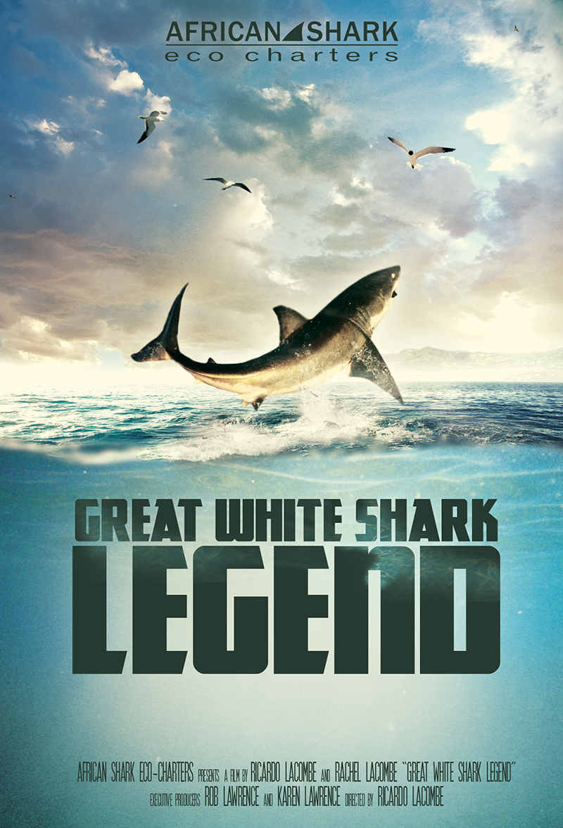 Great White Shark Legend poster small